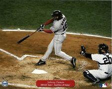 JOHNNY DAMON 8x10 ACTION PHOTO w/Jorge Posada BOSTON RED SOX '04 ALCS Grand Slam