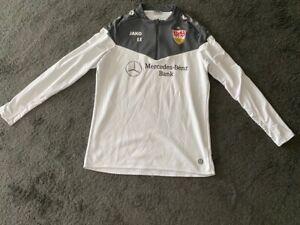 VfB Stuttgart Jako Zip-Jacke weiß-grau Gr. XL. Saison 2020/2021. TOP !