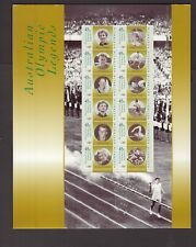 Australia Olympic Legends mint PO stamp pack
