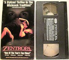 ZENTROPA (VHS, 1993) Jean Marc Barr Barbara Sukowa Udo Kier VERY GOOD CONDITION