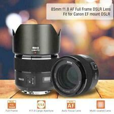 Meike 85mm F1.8 Auto Focus Full Frame Lens for Canon EF Mount DSLR Camera 600d
