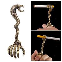 MagiDeal Golden XL Lady Rauchen Zubehör Finger Ring Halter Zigarettenhalter