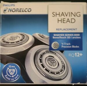 Philips Norelco Shaving Head Replacement RQ12+ Shaver Series 8000 SensoTouch 3D
