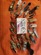 Miniature Shoes lot with Linda O'Keeffe Shoes Book