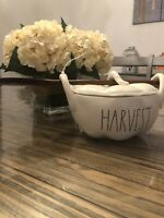 Rae Dunn Large Letter Harvest Serving Dish With Spoon