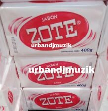 4X JABON ZOTE ROSA PARA LAVAR ROPA LAUNDRY BAR SOAP -4 de 400g ENVIO PRIORIDAD