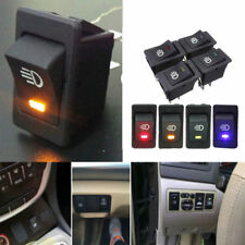 On/Off Indicator Rocker Toggle Switch Driving Fog Lamp/Work Light Bar 4-Pins LED