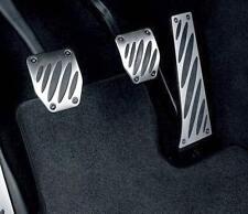 Genuine BMW Aluminum Pedal Pad Overlay Set E82 E88 E46 E90 E92 E93 E39 E60 Z4