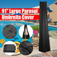 Outdoor Garden Market Patio Umbrella Canopy Waterproof Protector Cover Bag