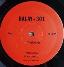 TURKISH 45 rpm EP: BORA ÖZKÖK - YAYALAR/BITLİSTE BEŞBİN HANE/AĞRI OYUNU 7-inch