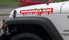 Wrangler splash blood hood graphic Decal Sticker fits to Wrangler unlimited JK