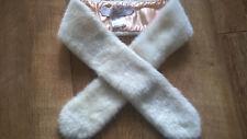 Aux Trois Accessories by Noa Noa faux fur collar trim / scarf VGC