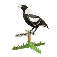 3D Pop Out Construction Postcard Puzzle Magpie Bird Australia Made Souvenir