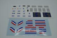 Custom Stickers Lego Metroliner Train & Club Car 10001 10002 4547 4558