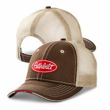 Peterbilt Motors Cap - Brown Class Pays Trucker Mesh Hat