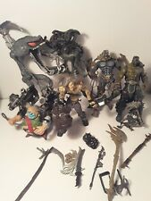 Vintage lot of Six Todd mcfarlane spawn figures with accessories