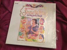 Disney Snow White laserdisc (CAV) box set/10 autographed lithographs-1994