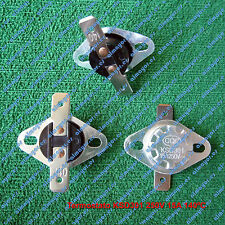Termostato KSD301 KSD302 250V 15A 140ºC contacto NC, Switch Thermostat