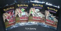SEALED 4X Neo Discovery 1ST EDITION Booster Packs (Artset) Pokemon Cards - LIGHT