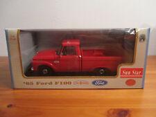 ( Go) 1:18 Sunstar 65 Ford F100 nuevo emb. orig.