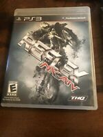 MX VS ATV REFLEX (Sony PlayStation 3 2009 PS3) Complete, Clean, Free Shipping