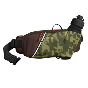 Camelbak Podium Flow Hydration MTB Belt with 620ml Water Bottle Camo / Brown ...