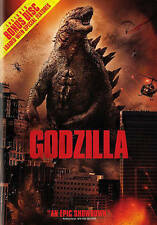 Godzilla (DVD, 2014, 2-Disc Set  NO DIGITAL CODE