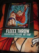 Dragon Ball Z Resurrection F Saiyan God Goku Anime Graphic Fleece Throw Blanket