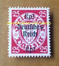 EBS Germany 1939 Danzig overprints - 25 Pfennig - Michel 724 MNG