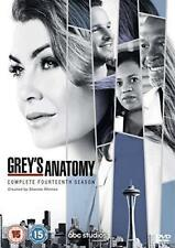 Grey's Anatomy season 14 Region 2 UK DVD Box Set Fast & Quick Postage