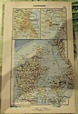 1962 Carte & Image Danemark Copenhague ,MALMO pont sur le petit Belt