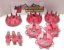 New Listing3 Msd Hei Ford Style Distributor Caps, Plug Wire Retainers & Rotors Nascar L@K
