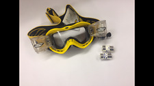 Kids Smith Motocross Goggles MX Racerpack Roll Off Warp Pro Series Yellow