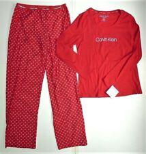 NWT CALVIN KLEIN Logo Pajama Set Size M