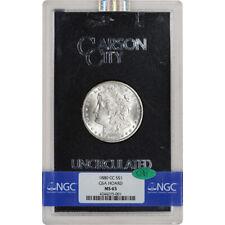 1880-CC US Morgan Silver Dollar $1 - GSA Holder - Uncirculated - NGC MS65 CAC