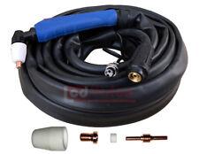 Plasmabrenner 12m PT-31 bis 50A HF (M14 /2-pin) - Plasmaschneider