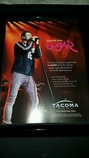 Maroon 5 Sold Out Tacoma Dome Rare Original Promo Ad Framed!