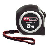 KS TOOLS 301.0134 Mètre à ruban Bi-matière ULTIMATE®, 8x25 mm