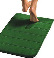 Non-slip Coral Green Anti-Skid Mat Bathroom Memory Foam Floor Rug Carpet Sales!