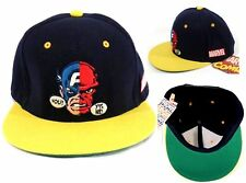 Marvel Japan CAPTAIN AMERICA vs RED SKULL Men's Adjustable Cap (One Size)-NWT