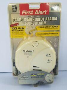 FIRST ALERT Carbon Monoxide & Smoke Alarm SC07