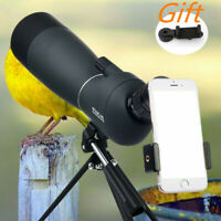 25-75X70 Zoom Waterproof Monocular BAK4 Spotting Scope Anti-Fog Day&Night Vision