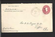 LEESBURG, OHIO 1902 COVER TO WASHINGTON C.H. OH. HIGHLAND CO 1816/OP.
