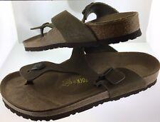 Birkenstock Gizeh Size Euro 41 NIB Sandals Thongs Unisex L 10- M 8 Taupe