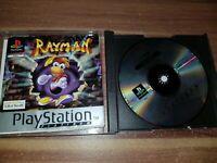 PS1 PlayStation 1 Pal Game with Box Manual RAYMAN