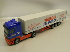 Herpa 270946 MB Actros LH 02 Curtain Canvas Semitrailer Hugger 1:87 HO Scale