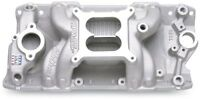 Edelbrock 7501 RPM Air Gap Intake Manifold for Small Block Chevy 262-400 V8