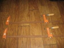 Pair Of Jorgensen Model 3924 Woodworking Clamps