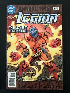 LEGION OF SUPER-HEROES ANNUAL #7 DC COMICS 1996 NM+