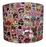 LOL Dolls Lampshades, Ideal To Match LOL Wallpaper Borders & LOL Duvet Covers.